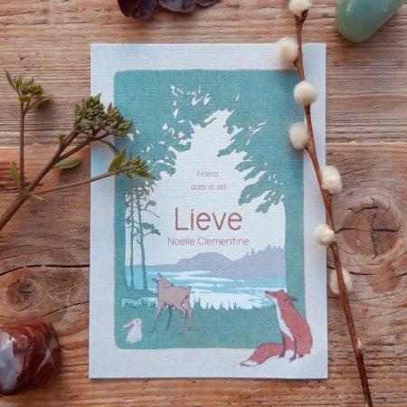 kaartje voor Lieve